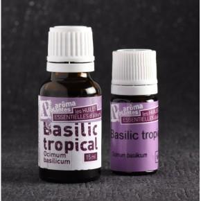 Huile essentielle de Basilic biologique