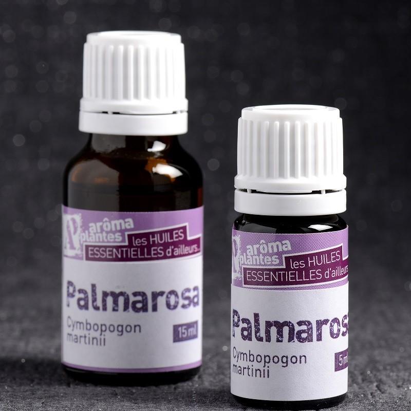 Huile essentielle de Palmarosa biologique
