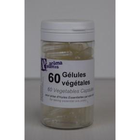 Boîte de 60 gélules vides